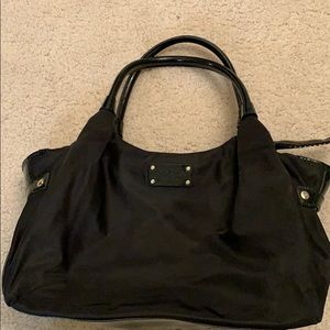 Kate Spade Nylon and Patent purse